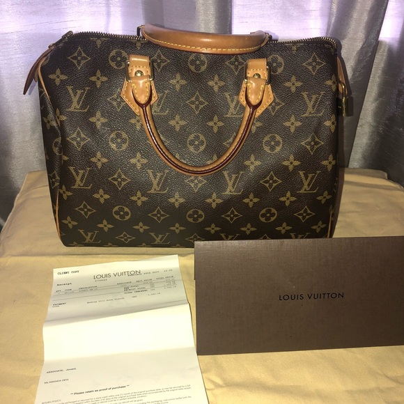 Louis Vuitton Handbags - Louis Vuitton Speedy 30